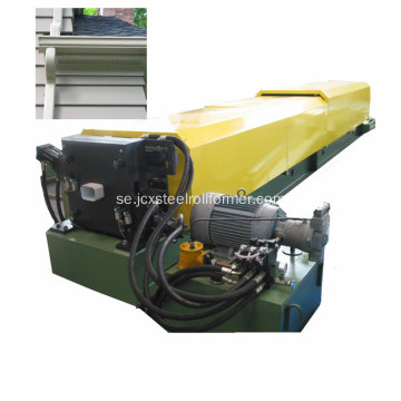 Kvadratisk downspout forming machine